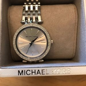 Michael kors silver watch new!